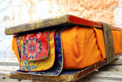 Tibetan praying book